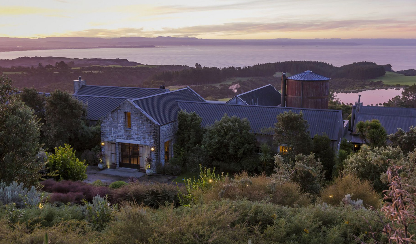 Home at the Farm at Cape Kidnappers