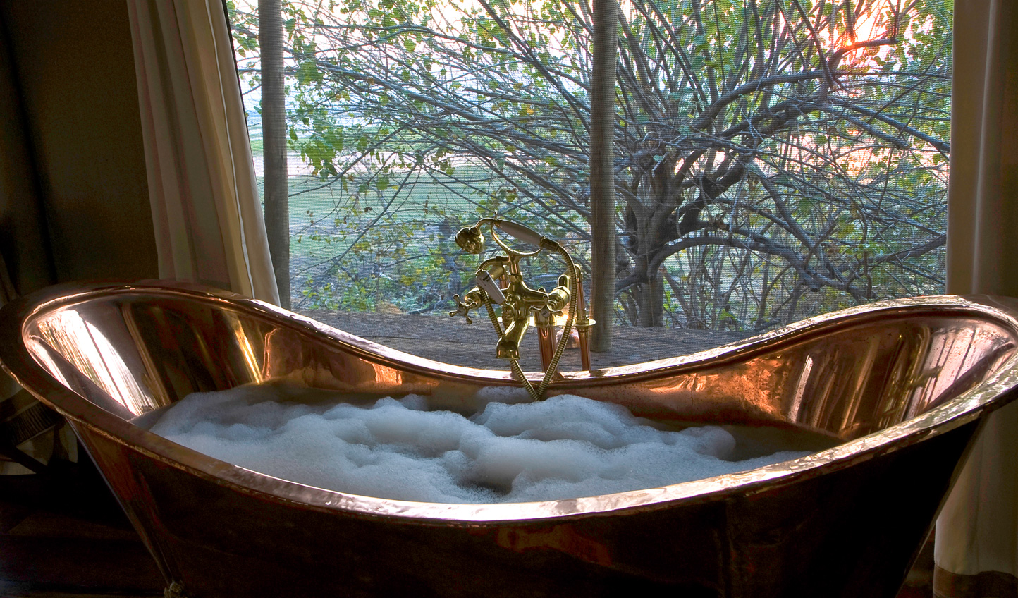 Soak away in your copper bath