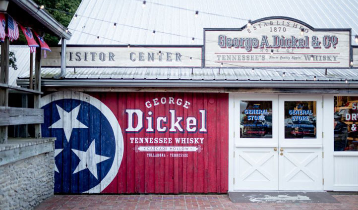 The George Dickel Distillery, USA