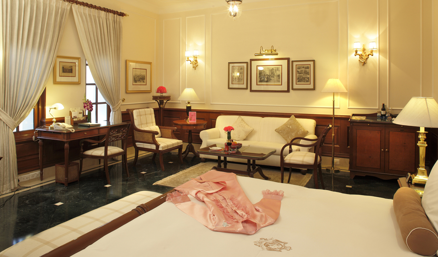 The luxurious rooms reflect The Imperial's grand sense of heritage