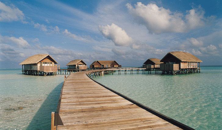 The emerald islands of the Maldives