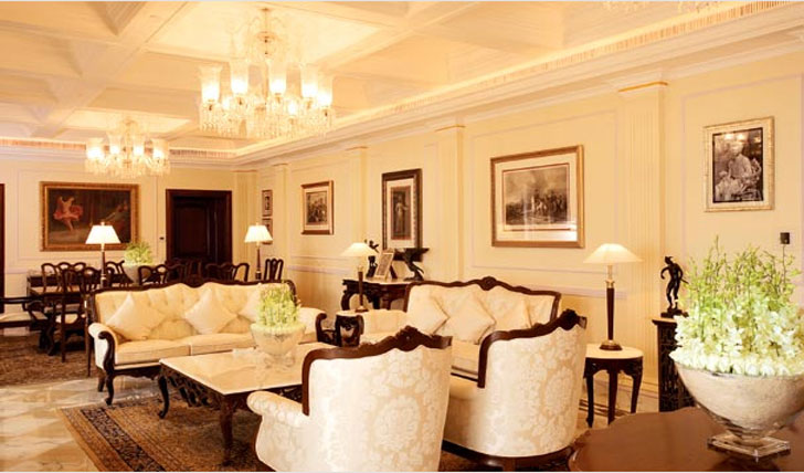 Luxury holiday at the Imperial, India