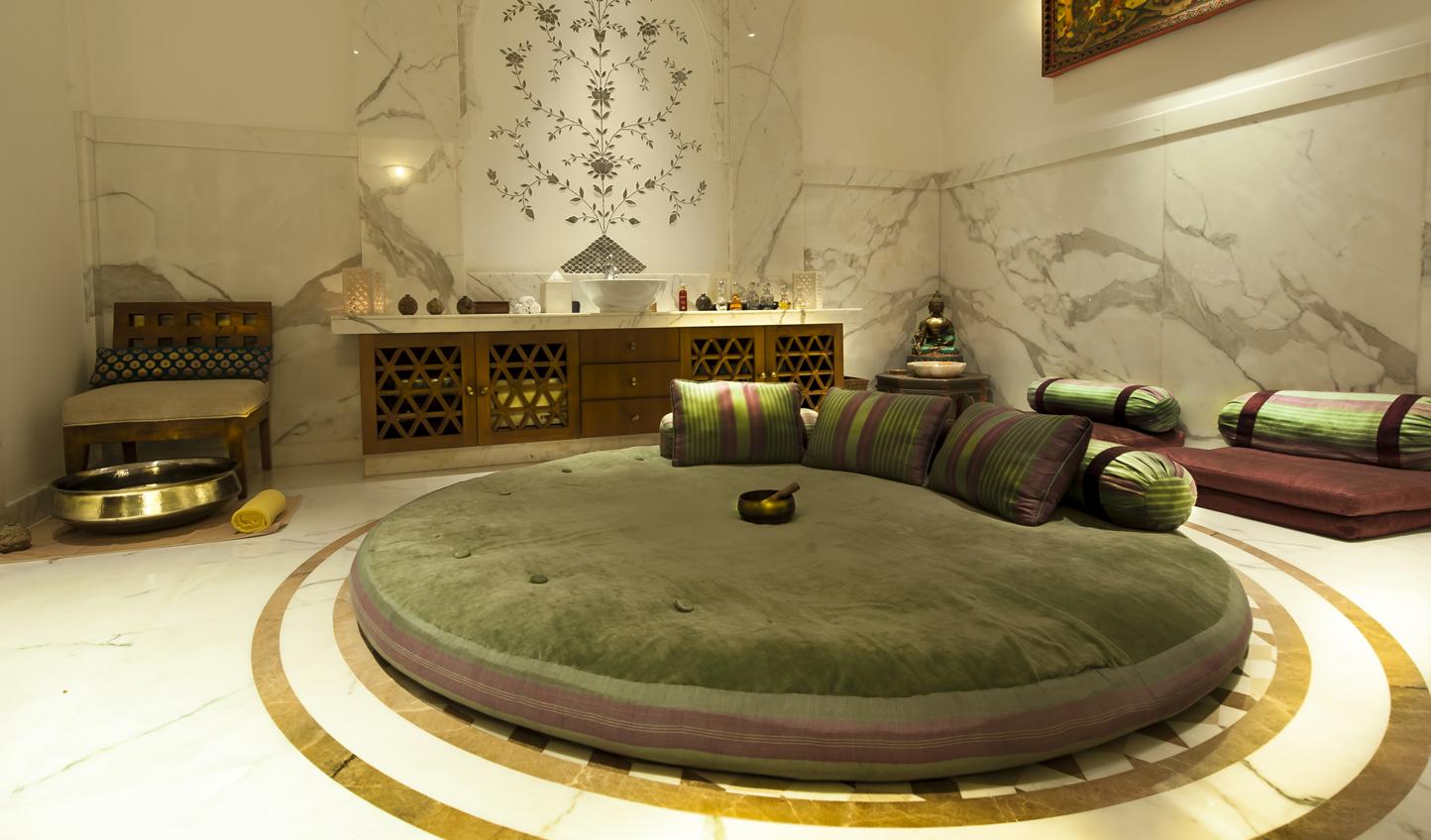 A unique space for a Thai-style massage