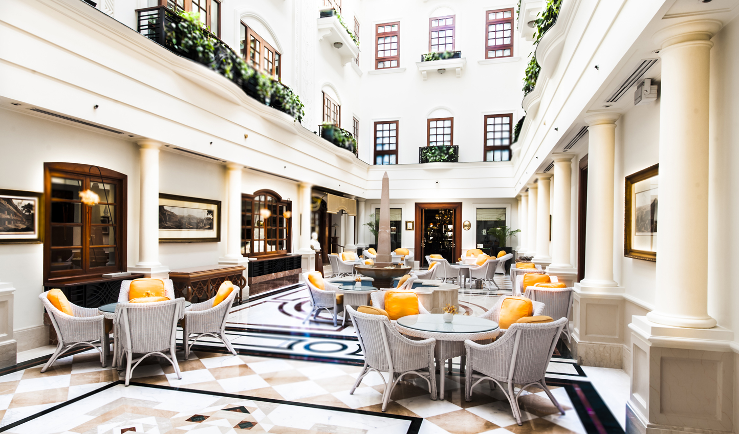 Take tea in The Atrium Tea Lounge