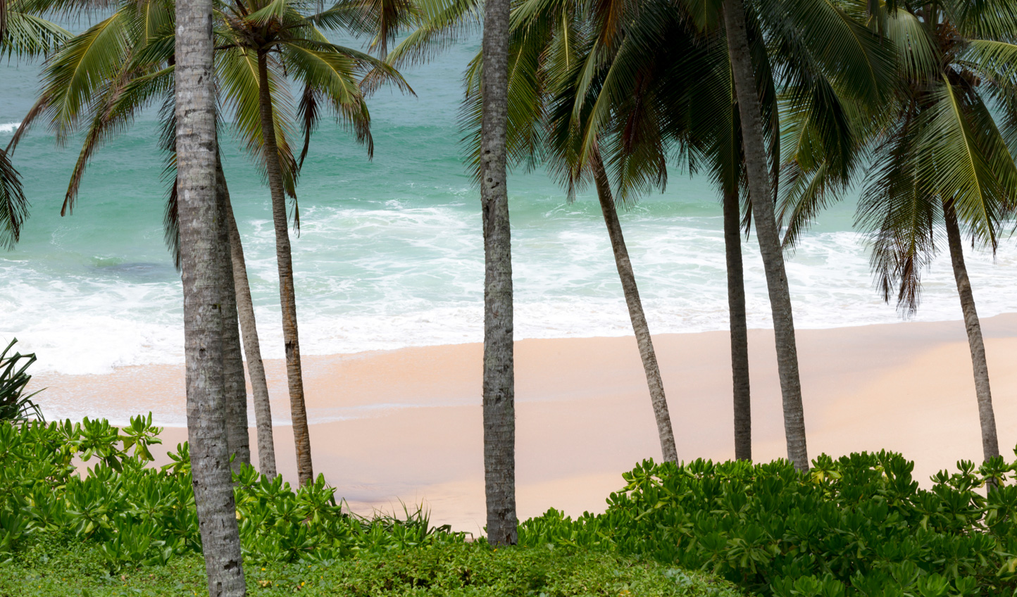 Powder soft sands and tropical hues