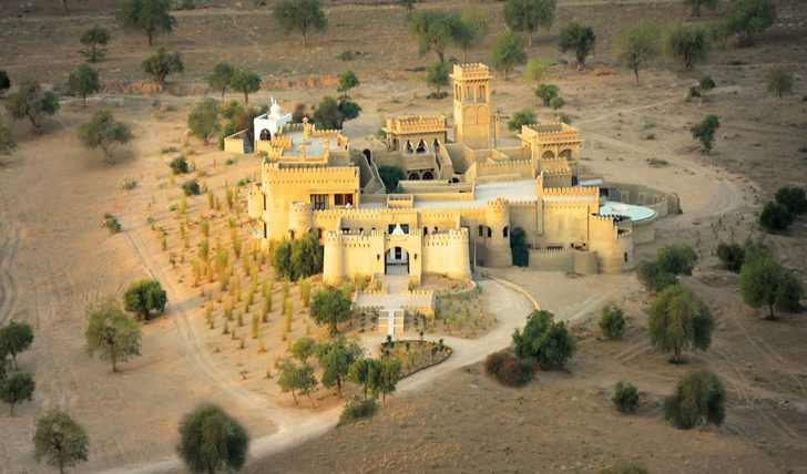 mihir garh birds eye view