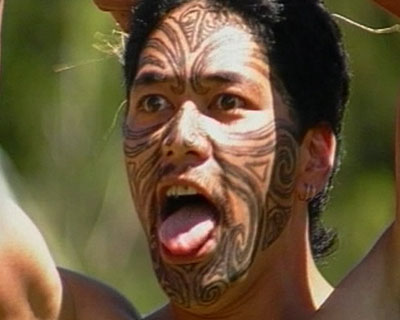 maori tattoo. Apart from signalling status and rank, the Maoris saw the moko