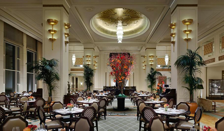 Dine at The Lobby Restaurant