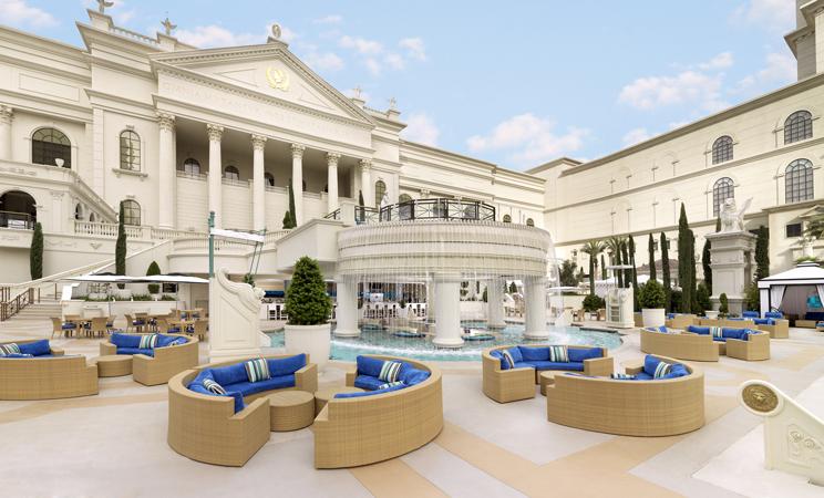 ceasar's palace, las vegas, nevada