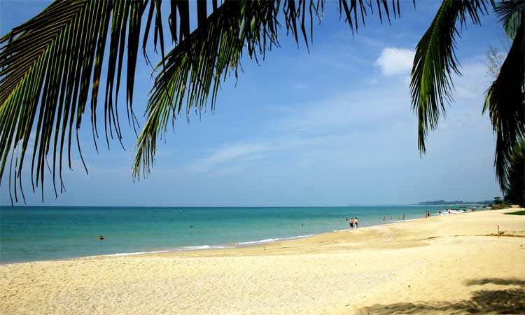 the golden sands of khao lak beach