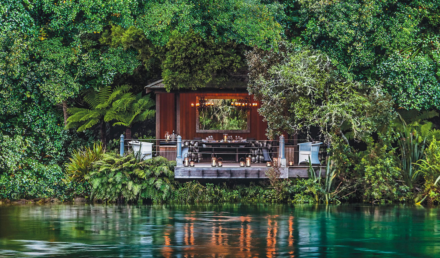 Dine in secret hideaways