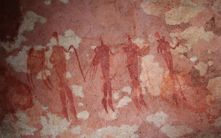 san bushman rock art