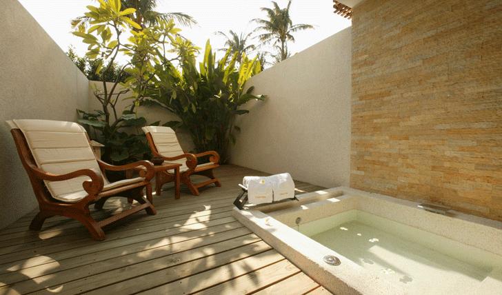 Jacuzzi villa