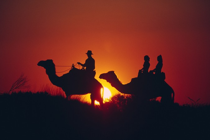 ride into the sunset re-living the afghan's legend