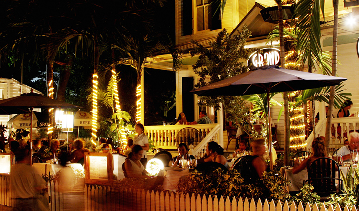 Nightlife of Key West, The Florida Keys, USA