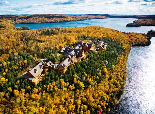Hotel Sacacomie Canada | Luxury nature hotel