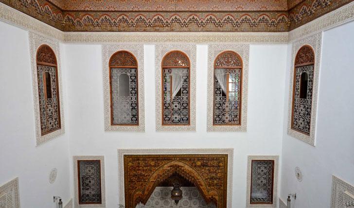 Interior, Dar Roumana, Morocco