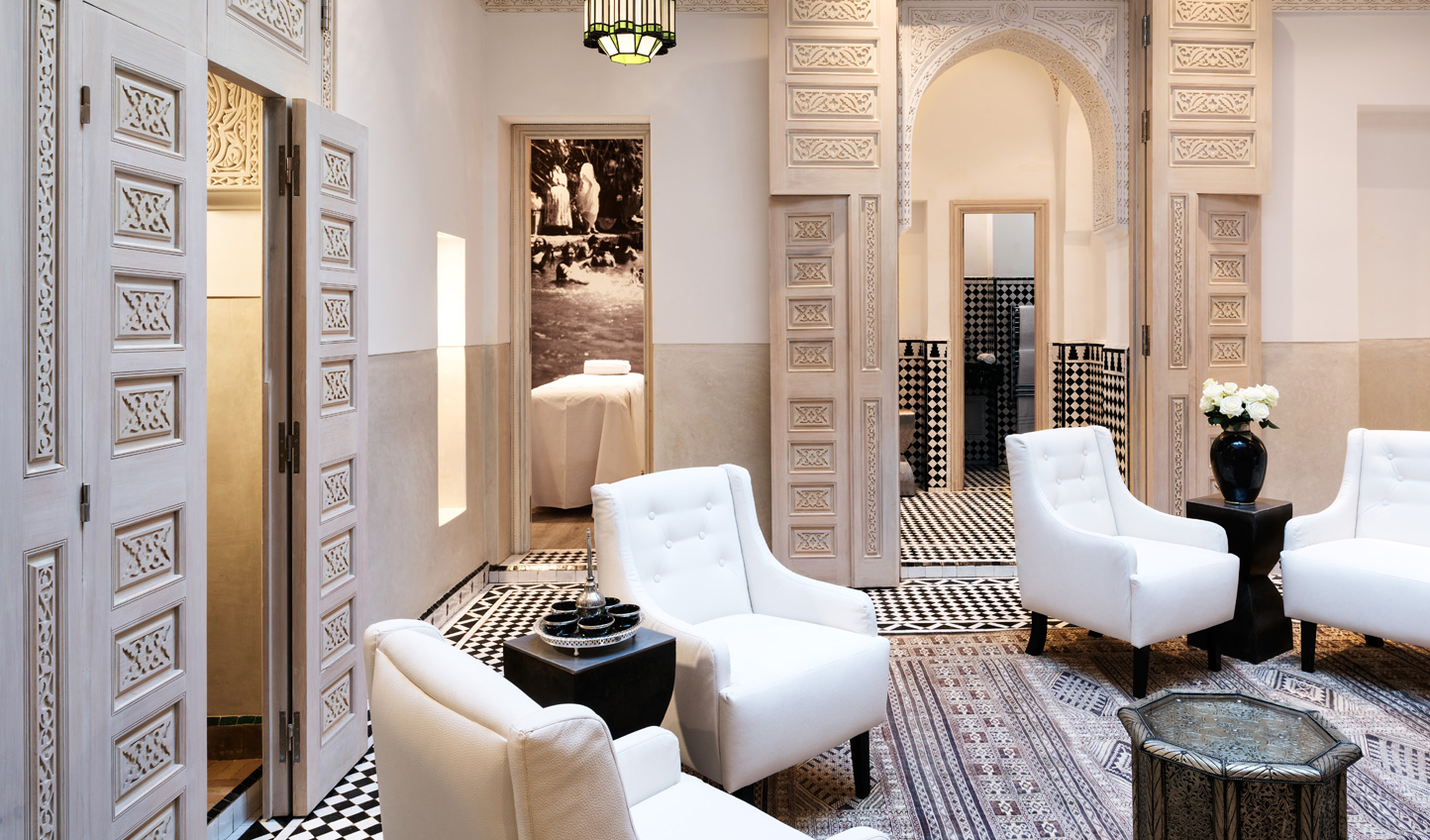 Unwind with a trip to the spa and a traditional hammam