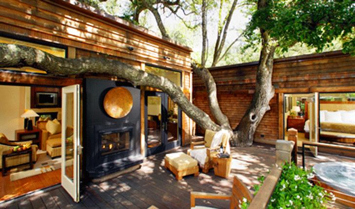 Your Callistoga Ranch room