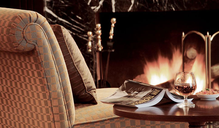 Relax by the fire whilst indulging yourself in your summer read