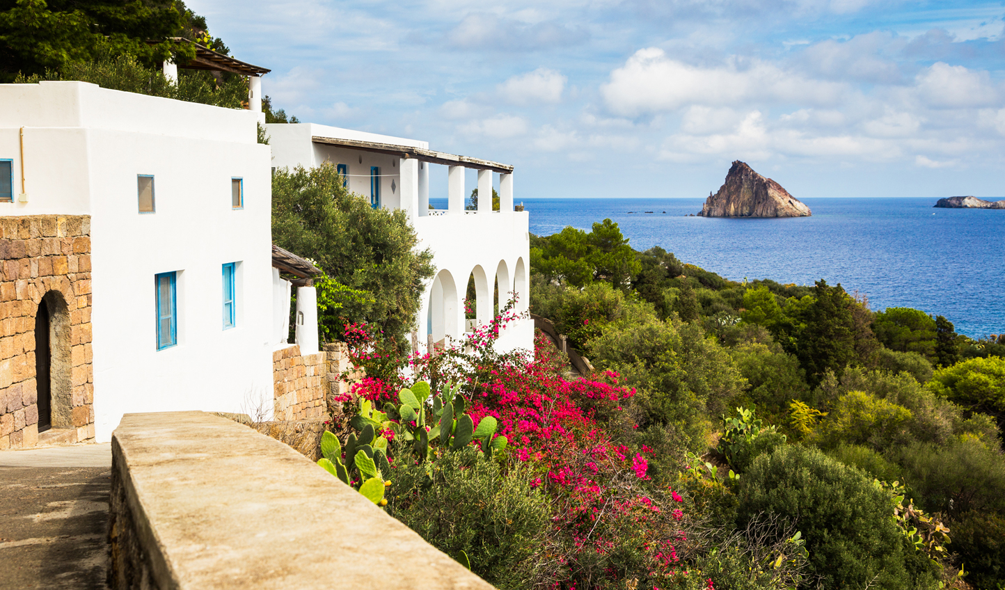 Settle into island life on Panarea