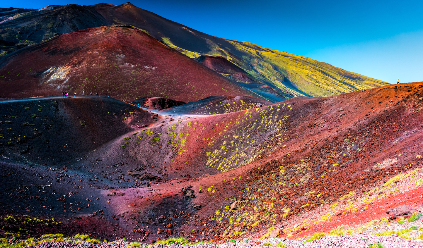 The otherworldly lunar landscapes of Mount Etna