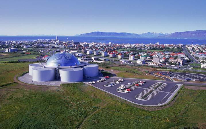 The Pearl in Reykjavik
