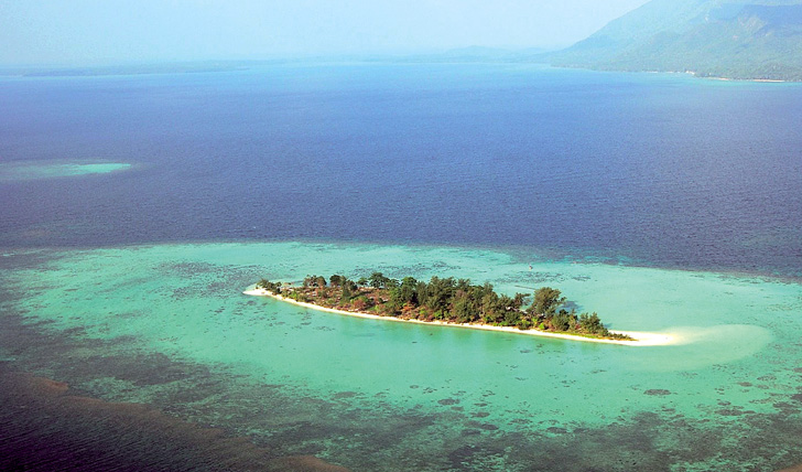 Kura Kura's private island