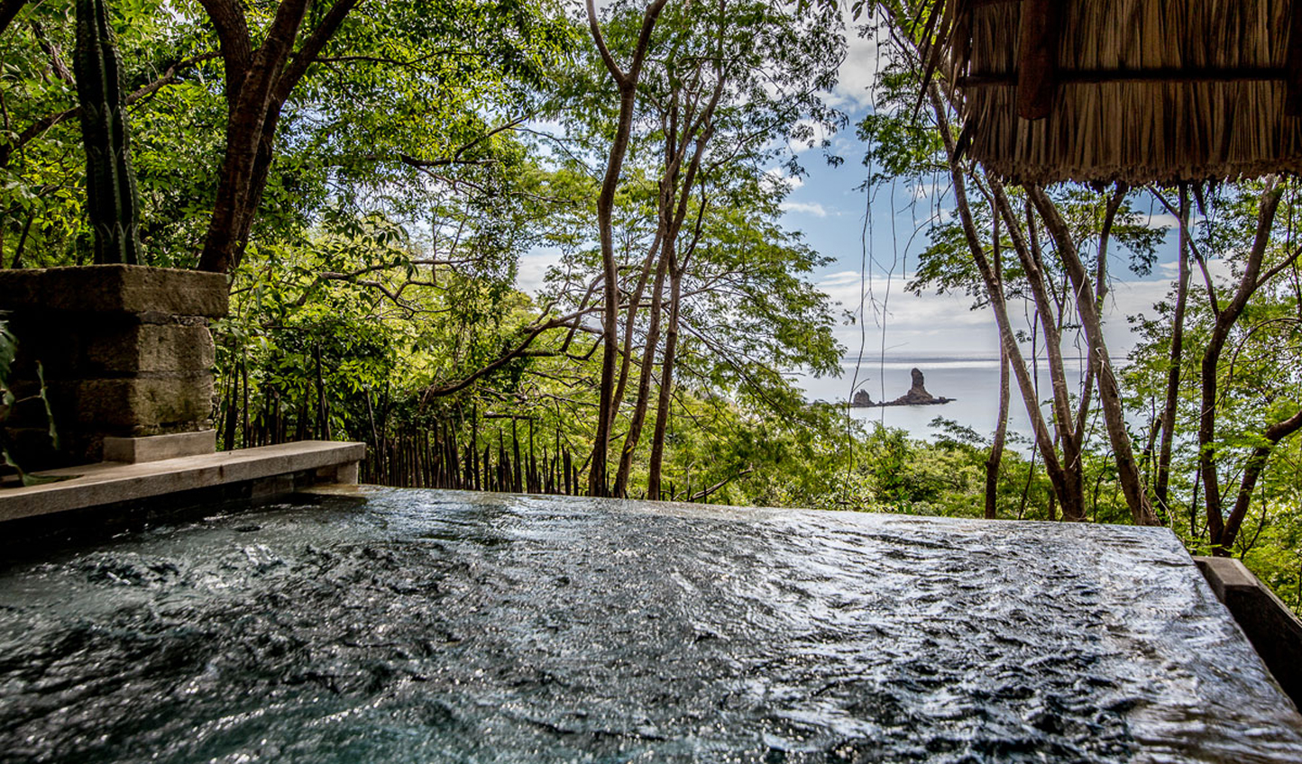 Your own private plunge pool in the heart of the jungle