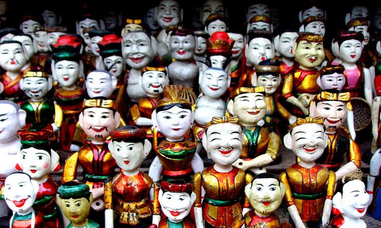 Famous waterpuppets, Hanoi