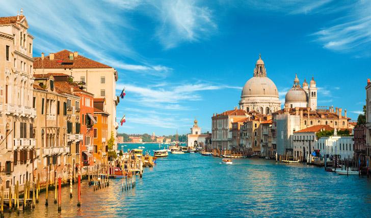 The Venice waterways