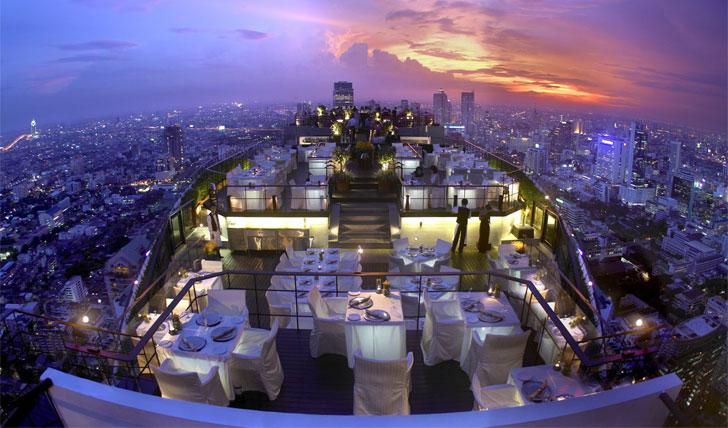 Vertigo Bar in Bangkok
