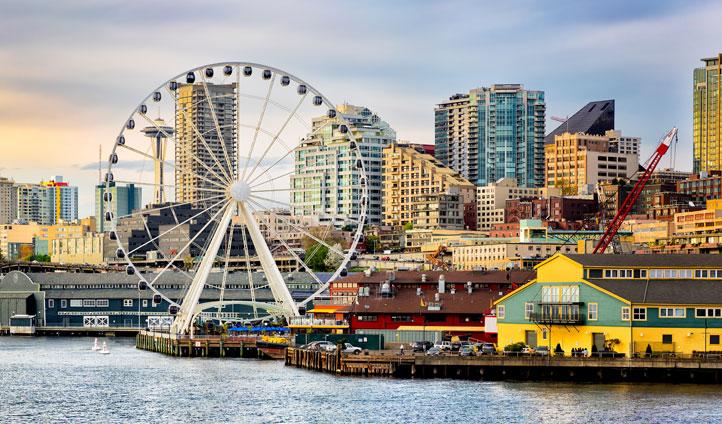 Seattle's harbour