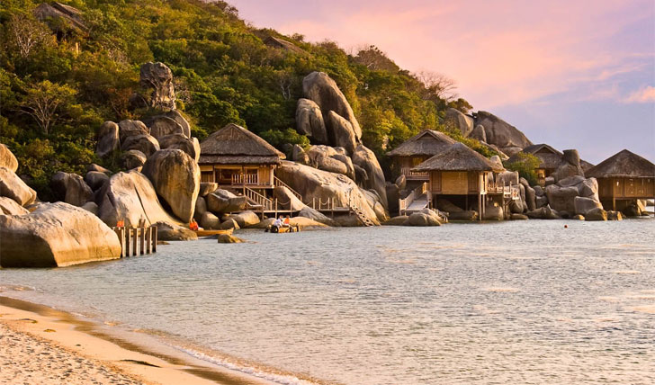 The incredible beaches of Ninh Van Bay