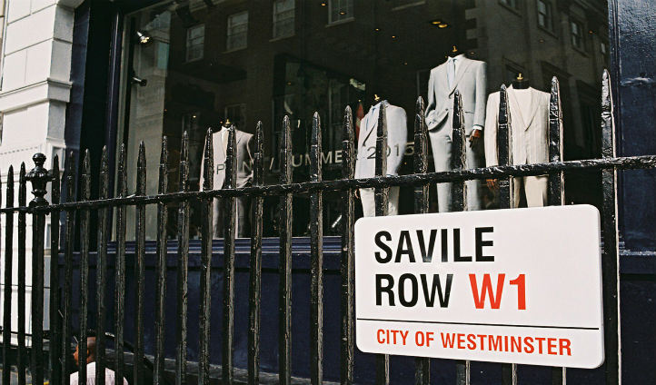 Take a stroll down Savile Row