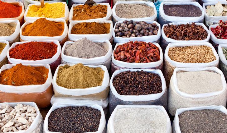The local spice markets
