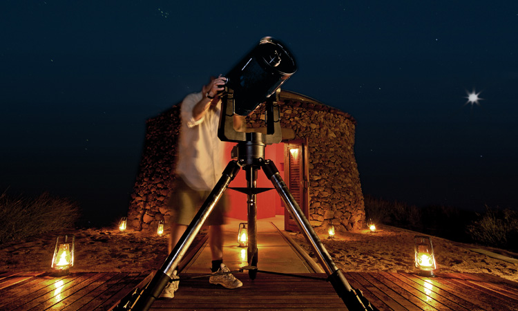 observe the night sky at ulusaba