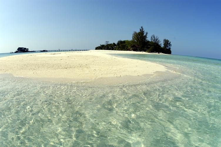 Beach in Borneo