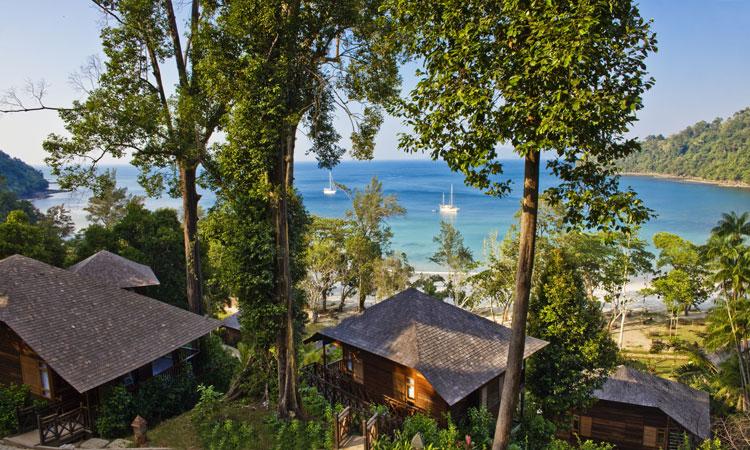 View over Bunga Raya