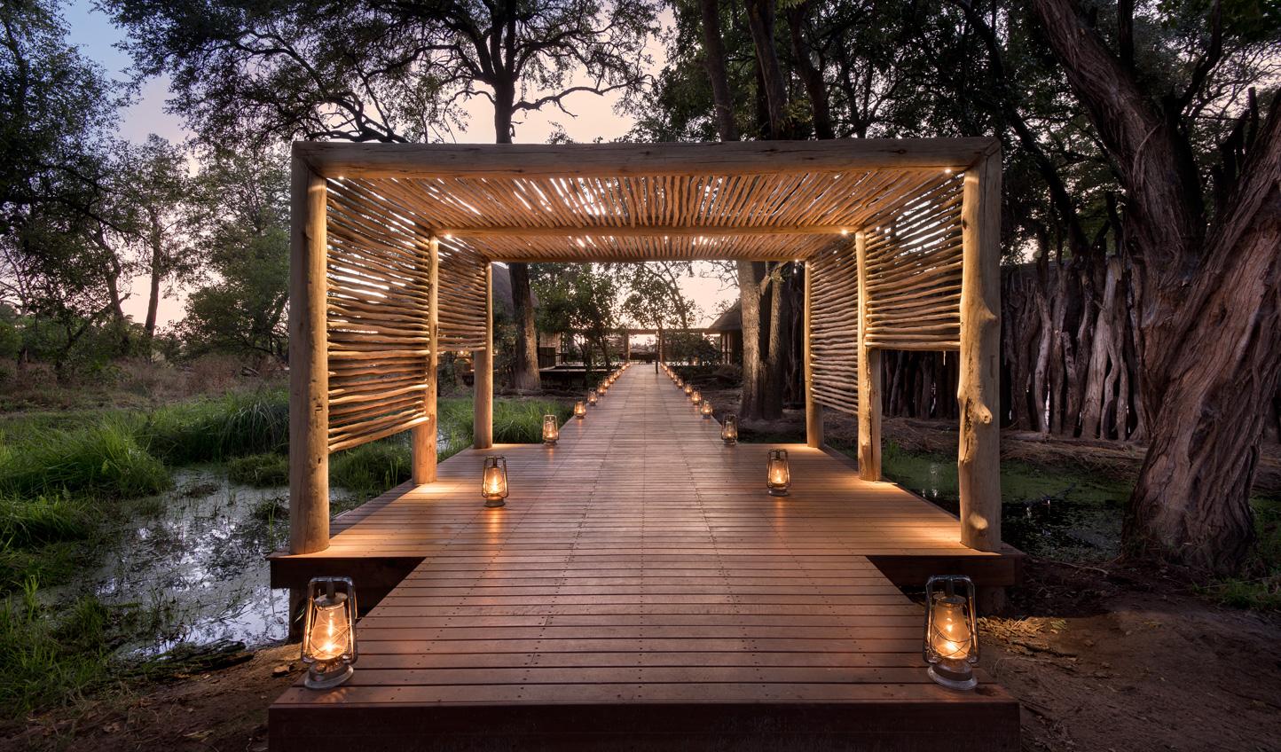Make an entrance at andBeyond Nxabega