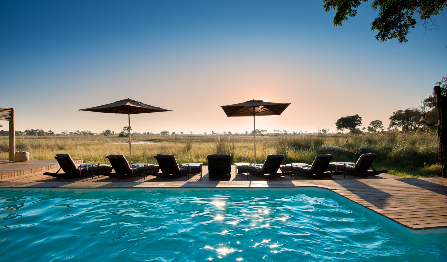 Spend an afternoon cooling off by the pool
