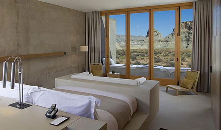 Suite living at Amangiri