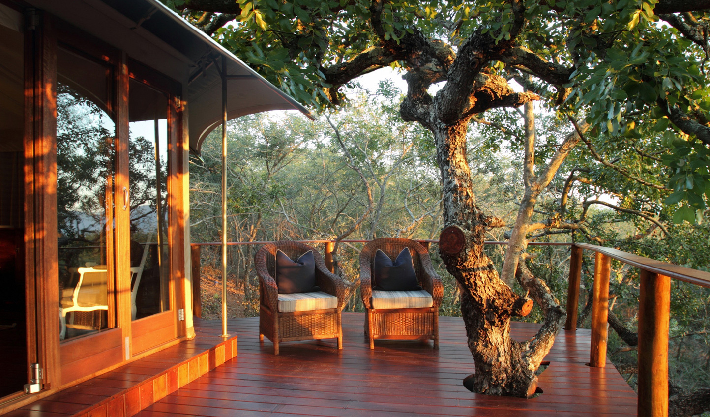 Relax amid the wilds of Thanda Private Game Reserve