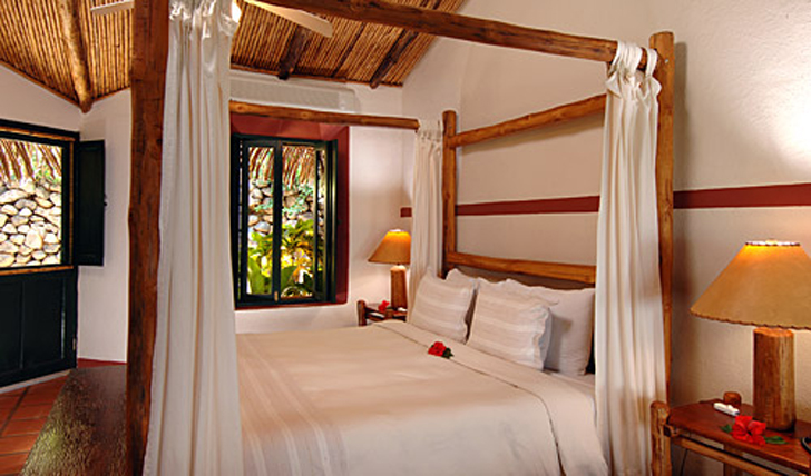 bedroom at punta islita