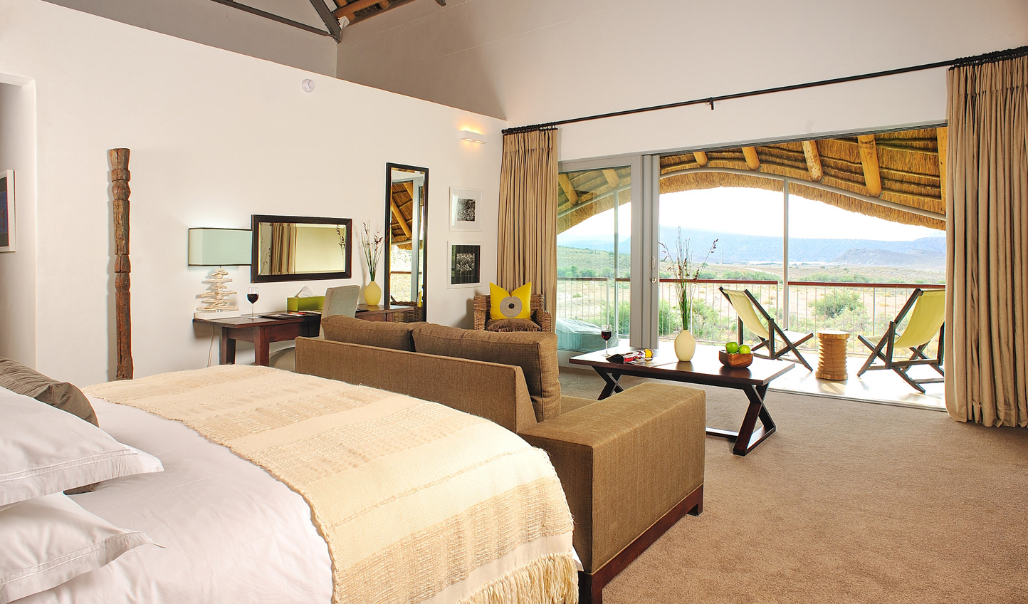 Light, airy rooms with unbeatable views at Gondwana
