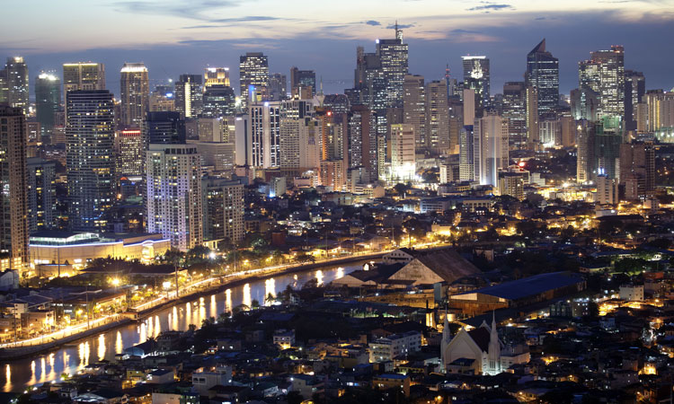 manila by night