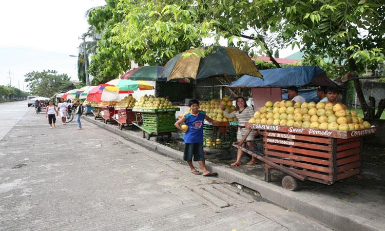City street markets