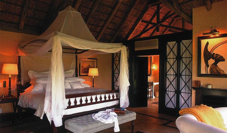 Royal Malewane's rooms