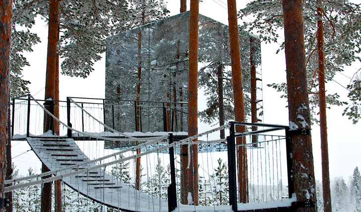 Luxury design hotels in Sweden