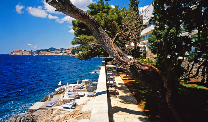 Villa Dubrovnik views